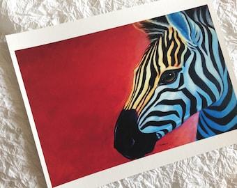 La Cebra-Print (8.5 x 11 in)
