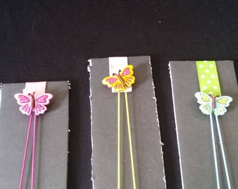 Butterfly Bookmark Set
