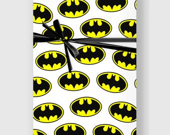 Batman Wrapping Paper, Funny, Digital Gift Wrap Sheet, Minimal Wrap, Wrapping Paper, Holiday Wrap, Printable Wrapping Paper, DIGITAL FILE
