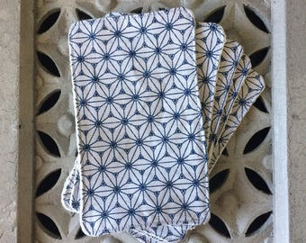 Cotton reusable pads