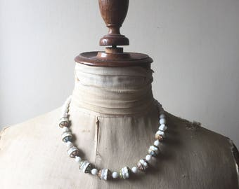 1930s plastic bead necklace