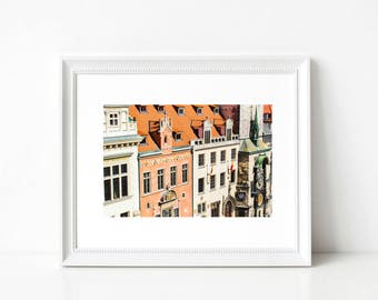 Prague Printable Prints Art Decor, Instant Download, Travel Digital Art, Czech Printable Art, Europe Download Art, Instant Prints