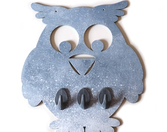 Owl Wooden Hangers for Jewelry