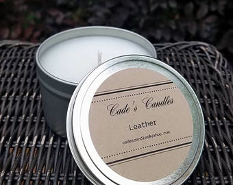 LEATHER - Scented Candle