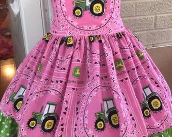 John Deere theme dress