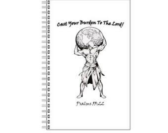 Cast Your Burdens Notebook