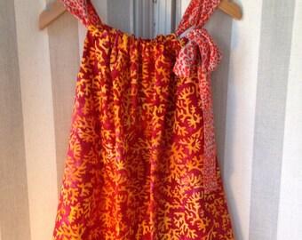 Cotton strap dress