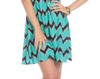 New pretty Cheveron dress