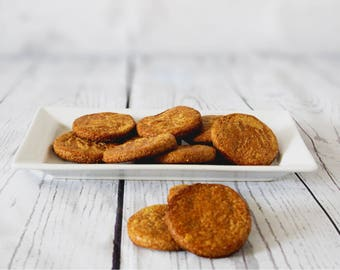 Banana & Peanut Butter Rounds - Homemade 100% Natural Doggie Treats
