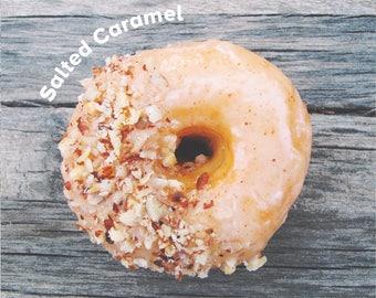 Salted Caramel Vegan Donut