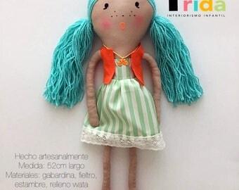 Cloth doll-rag, rag doll, cloth doll.
