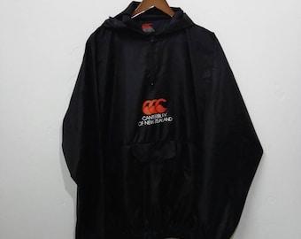 Vintage CENTERBURY Windbreaker Jacket Big Logo Design with Hoodies