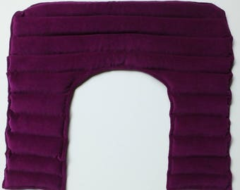 Therapeutic Vintage Velvet Lavender Scented Neck and Shoulder Heat Pack