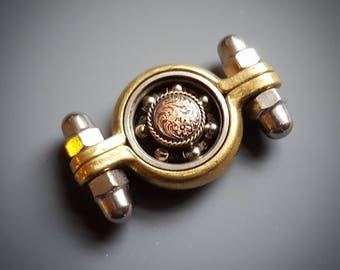Fidget Spinner Metal Handmade Brass/Copper/Steel