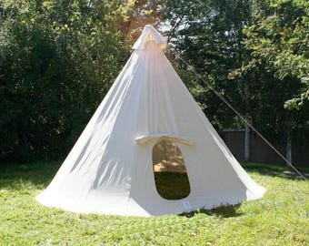 One pole Tipi, Tourtipi , Tepee one pole, Tipitent Native america home