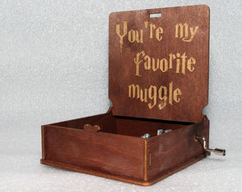 "Harry Potter - You're My Favorite Muggle - ""Harry's Wondrous World"" - Hand Crank Movement"