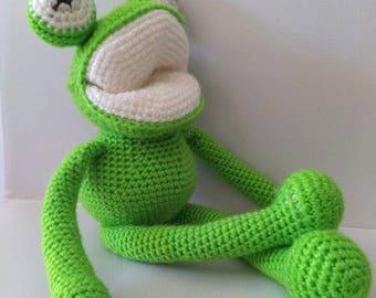 Amigurumi Green Frog