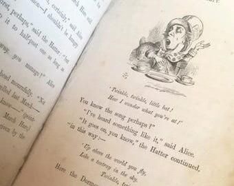 RARE Alice's Adventures in Wonderland - Copy (1872)
