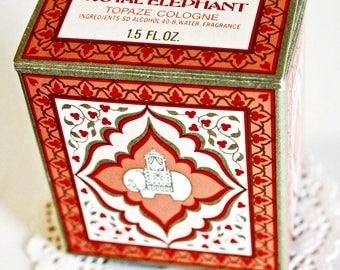 VINTAGE Royal Elephant - Tapaze Cologne by AVON, 1.5 Fl. Oz.