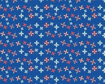 Pinwheel Cotton Fabric - Summer Celebration - Riley Blake Fabrics - Perfect for Quilting, Nursery, Kids Clothing