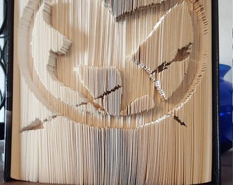 Folded Book Art - Mockingjay