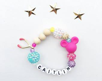 Personalized Wishes Bracelet, Disney Jewelry, Disney Bracelet, Disney Wishes