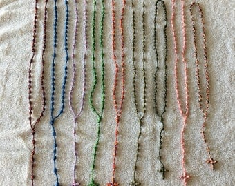 Cord Rosary (Various Colors)