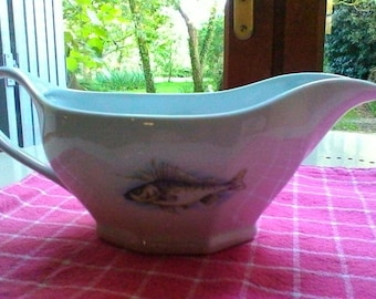 Sauce boat - French vintage white porcelaine