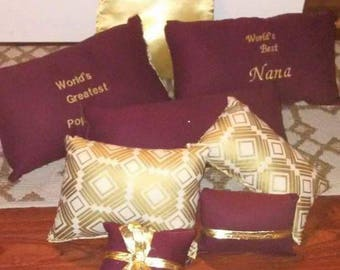 Handmade Decorative Pillows