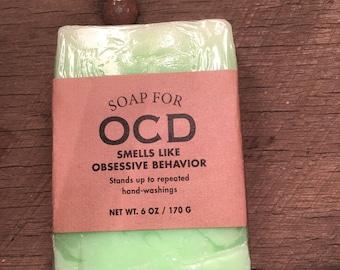 Whiskey River Soap: OCD