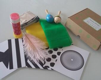 Sensory Play Gift Box for Babies