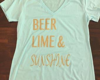 Beer, Lime and Sunshine