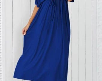 Dress elegant Empire, simple tunica bellissima for important events xxl