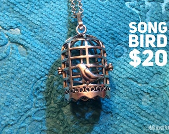 Song Bird Pearl Cage