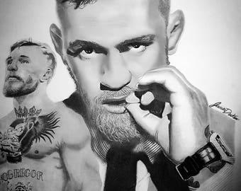 Conor McGregor 11×9 inch print