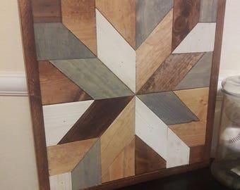 Square Wood Quilt