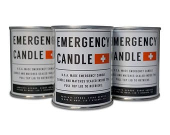 Emergency Candle 3 Pack