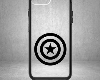 Captain America Decal, Captain America Sticker, Captain America Vinyl, Avengers Sticker, The Avengers, Phone Case, Captain America