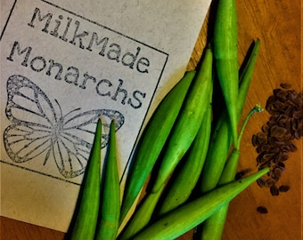 Organic Milkweed Seeds (25 per packet)  ~~For the love of Monarchs~~