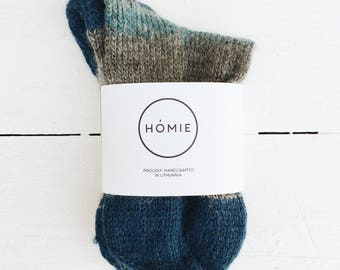 Hand Knitted Woolen Socks For Him