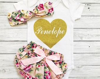 Baby Clothes, Baby Girl Clothes, Newborn Clothes, Personalized Baby Clothes, Newborn Girl Clothes, Baby Clothes Girl, Baby Girl Outfits