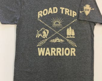 Road Trip Warrior tee