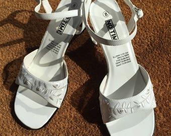 Vintage White Heels