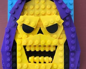 Skeletor Lego® Portrait