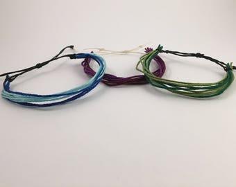 Multi-stranded Friendship Bracelet