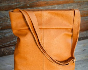 Faux leather bag, Crossbody vegan leather bag, Woman/teenage bag