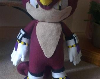 Sonic The Hedgehog Espio The Chameleon Plush