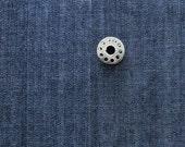 FAT QUARTER Lightweight Denim | Dark blue cotton denim fabric for sewing accessories.