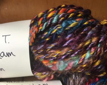 Handspun yarn from Namaste Farms