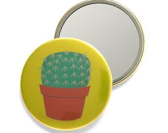 Cactus Pocket Mirror